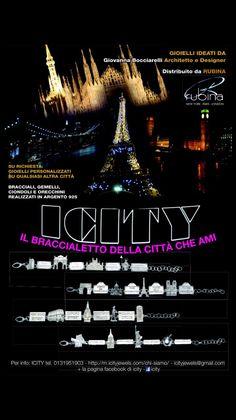 ICITY il bracciale della città che ami! Must have!!!