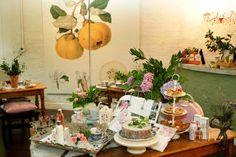 The Tea Room at Crabtree & Evelyn restaurant. Restaurants Fourways ...