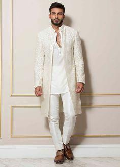 Indian Wedding Suits Men, Sherwani For Men Wedding, Mens Indian Wear, Indian Groom Wear, Indian Men Fashion, Mens Summer Wedding Outfits, Wedding Dress Men, Gents Kurta Design, Boys Kurta Design