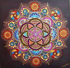 Šola svete geometrije - www.smisel.si info@smisel.si #mandala #rožaživljenja #svetageometrija