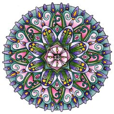 """13th January Mandala"" - art by Artwyrd, via deviantART"