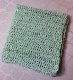 My first baby blanket :)