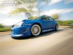 #Widebody #blue 2004 Subaru WRX STi
