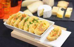 Torrijas de queso, receta de aperitivo fácil