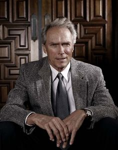 Clint Eastwood - Actor, film director, musician and politician Films made by him include 'Mystic River', 'Unforgiven', 'Bridges of Madison County' 'Letters to Iwo Jima'. Clint And Scott Eastwood, Actor Clint Eastwood, Hollywood Stars, Old Hollywood, Martin Scorsese, Fritz Lang, Stanley Kubrick, Meryl Streep, Movie Posters