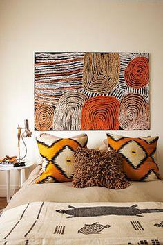 cream + warm colors (Tim Leveson Interiors)