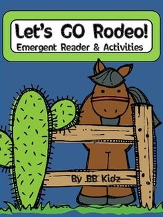 Rodeo Emergent Reader with several activities to go with it.  Included are...Color By Number CodeAdditionSubtractionWriting PromptsComprehension PageBadgesWanted Writing PromptBy BB Kidz 23 Pages
