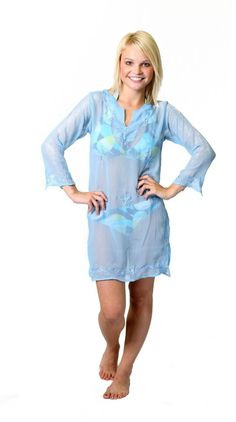 Alkii Misses Long Sleeve Tunic Cover up/Dress clothing-accessories