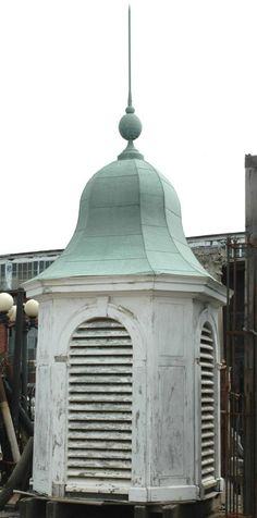 Huge wood and copper cupola
