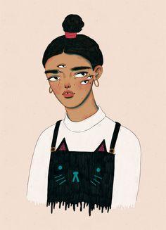 Manjit // Illustration student. I'll be posting my illustrations, work in progress, sketchbook pages...