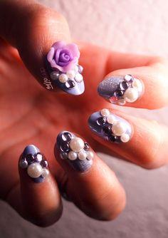 3D+nail+art