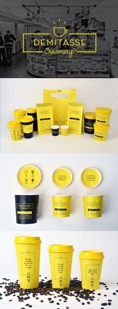 Love this #branding for Demitasse Creamery http://www.factorn.com/blog/brianne-boland-esta-hecha-de-polvo-de-estrellas/?utm_content=buffera521e&utm_medium=social&utm_source=pinterest.com&utm_campaign=buffer #design #brandbetter