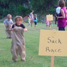 Neighborhood Games Sack Race