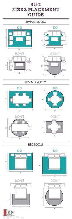 Rug Size And Placement Guide Front Door Blog Http Centophobe
