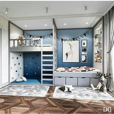 20 Teen Bedroom Ideas Your Teens Definitely Would Like. 20 Teen Bedroom Ideas Your Teens Definitely Would Like - Simply Home. Blue Bedroom, Trendy Bedroom, Bedroom Colors, Girls Bedroom, Bedroom Decor, Warm Bedroom, Bedroom Storage, Grey Bedrooms, Bedroom Furniture