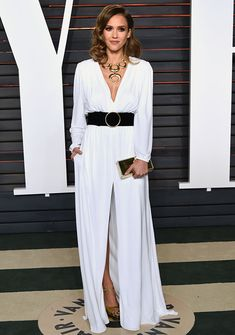 Jessica Alba Oscars After Party
