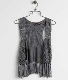 Daytrip Metallic Sweater Vest