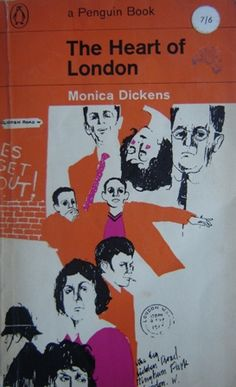 The Heart of London by Monica Dickens #vintage penguin paperback