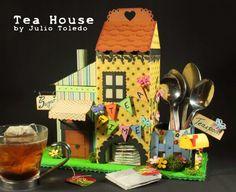 Tea House de cartonaje.