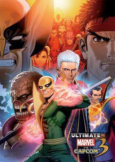 Ultimate Marvel vs Capcom 3 Promotional Art - Shinkiro