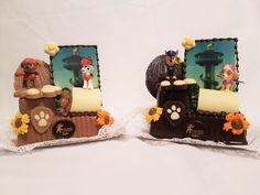 La patrulla canina- Bollo de Pascua- Figura de chocolate gijón Birthday Cake, Desserts, Food, Paw Patrol, Buns, Easter, Recipes, Tailgate Desserts, Deserts