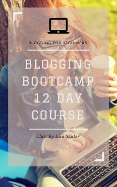 Blogging BootCamp Is the perfect course for people wanting to start blogging or who just started blogging! Lots of great social media information and very affordable!