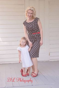 Mother daughter vintage photoshoot  I love the polka-dot dress and red shoes Red Shoes, Dot Dress, Polka Dots, Daughter, Photoshoot, Kids, Photography, Vintage, Dresses