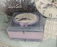 Купить шкатулка комод для бижутерии или косметики Лаванда - комод, комодик, комодик для украшений
