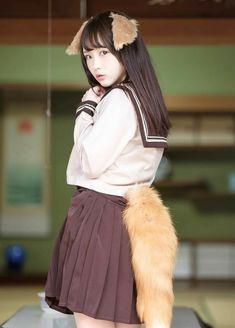 天瀬音羽 Cute Asian Girls, Cute Girls, Cute Kawaii Girl, Cosplay, Japan Girl, Asian Beauty, Portrait Photography, Persona, Ballet Skirt