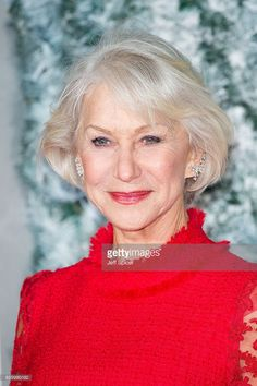 Helen Mirren attends the European Premiere of 'Collateral Beauty' at Vue Leicester Square on December 15, 2016 in London, England.