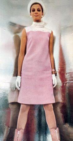 1960s - L'officiel magazine, mod, space age fashion, style