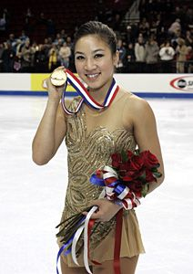 Michelle Kwan - Gold.I love watching Michelle Kwan.Please check out my website thanks. www.photopix.co.nz