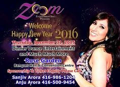 Welcome New Year 2016 Event Tickets on Sulekha. Event Venue Held on Rose Garden Banquet Hall, Etobicoke,ON Tickets – Indian Event