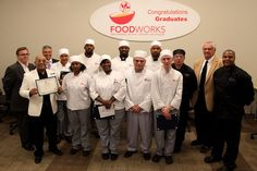 We are so proud of our eight graduates. Take a look at this FoodWorks class' journey in our newest blog post.