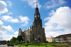 Catedral Nossa Senhora de Lourdes / Canela, Río Grande del Sur.