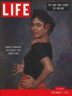 Dorothy Dandridge, 1st black female to win an Oscar as Carmen...