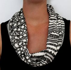 Organic Cotton Knit Scarf - Geometric design looks so elegant here. Organic Cotton, Geo, Elegant, Knitting, Pattern, Etsy, Shopping, Scarves, Design