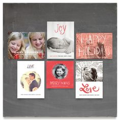 My Holiday Cards Inspiration Board, curated by Jess Taich at Minted