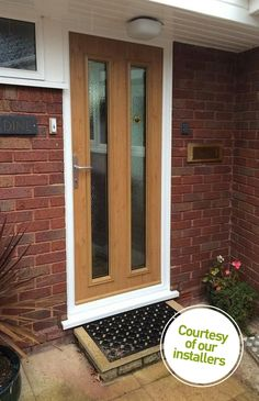 Not sure what composite door you want? Take a look at some of the beautiful composite door installations that Solidor has done and get inspired online here. Hardwood Front Doors, Oak Front Door, Oak Doors, Entrance Doors, Composite Front Door, Home Remodeling, Home Improvement, Interior Decorating, Windows