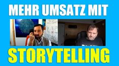 Professionelles Storytelling für mehr Umsatz, Leads und Abonnenten - Ali... Marketing, Storytelling, Interview, Earn Money, World
