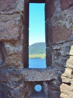 Urquhart Castle ruins by Loch Ness- Scotland by Marie Constance