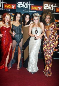 The time Mel B basically just wore her dress back to front. | 27 Times The Spice Girls Looked Better Than You