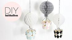 DIY & PHOTO BY: NOA GAMMELGAARD http://www.blog.bog-ide.dk/diy-luftballon/ DIY luftballon