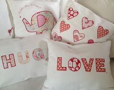 Cushions for the girls x