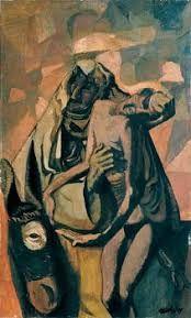Frantisek Tichy : The Good Samaritan , 1949 Czech Rep. Circus Performers, Picasso, Artist, Painting, Artists, Painting Art, Paintings, Painted Canvas, Drawings