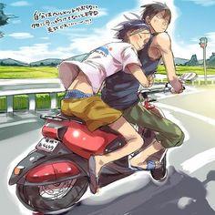 Yowamushi Pedal (Yowapeda) - Jinpachi Toudou x Yasutomo Arakita