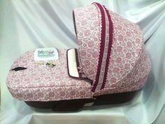 Fundas para capota y capazo del Stokke, un carrito de bebe moderno, al que puedes darle tu toque personalizado en BabyNubes