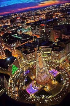 Merry Christmas from Indianapolis Indiana