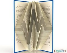Book folding patterns Folded book artworks by WolFabricBooks Musician Gifts, Book Folding Patterns, Handmade Wedding, Music Notes, Gift For Lover, Book Art, Artworks, Etsy Seller, Messages