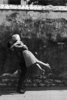 Sweep me off my feet | embracing | flying | high | love | drunk | kiss | kissing | vintage | passion
